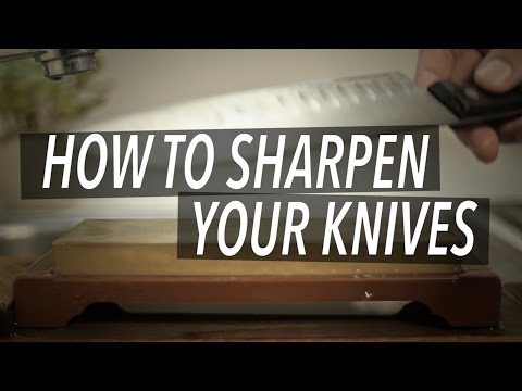 The Start to Finish Guide to Sharpening a Knife with a Whetstone