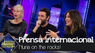 La prensa internacional reconoce el trabajo de Nuria Roca por su sección - El Hormiguero 3.0