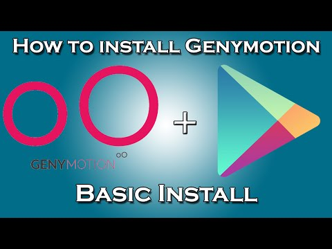 How To Install Genymotion With Google Play Services APK