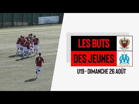 Nice 2-0 Marseille (U19) : les buts