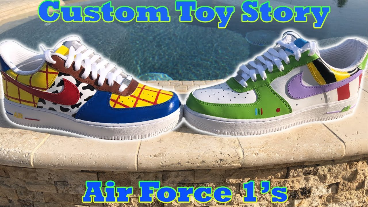 Custom Toy Story Air Force 1's ( Buzz
