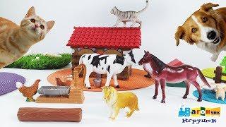 ИЗУЧАЕМ ФЕРМУ: домашние животные.
