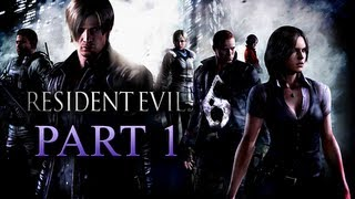 Resident Evil 6 Walkthrough Part 1 [Xbox 360 / PS3 / PC]