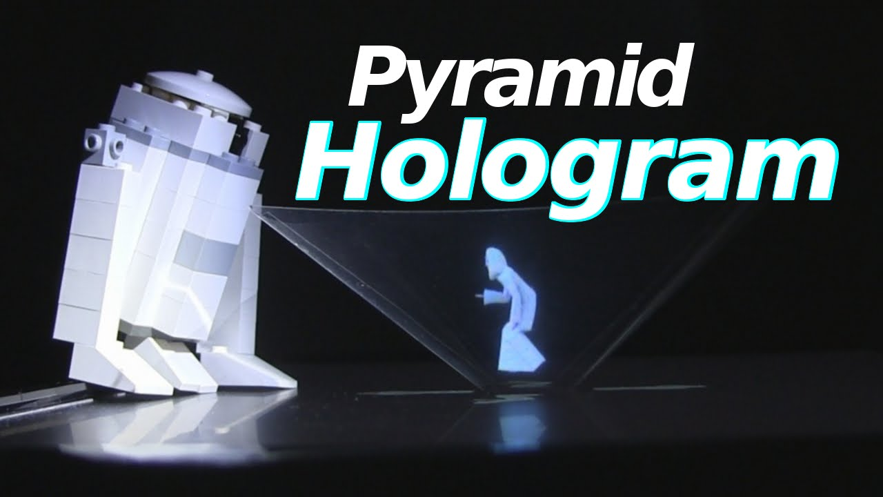 Pyramid Hologram How To Make How It Works With Princess