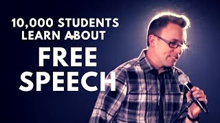 10,000 Students Learn About FREE SPEECH