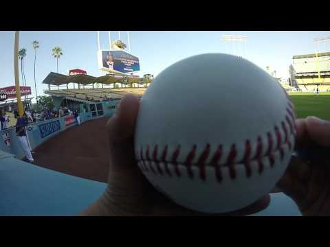 Yimi Garcia Autograph - 9/16 at Dodger Stadium