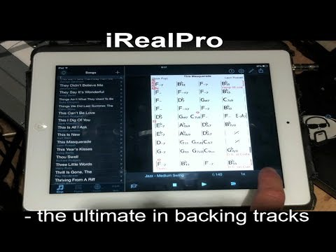 IRealPro - Quick And Easy BACKING TRACKS !!