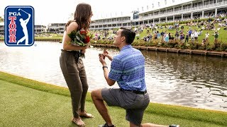 Sergio Garcia helps with marriage proposal at THE PLAYERS