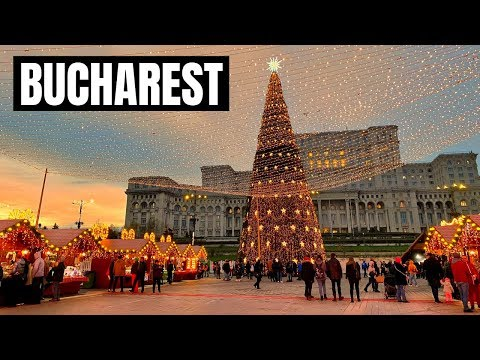 BUCHAREST Christmas Market 2019 (shot with iPhone 11 in 4k)