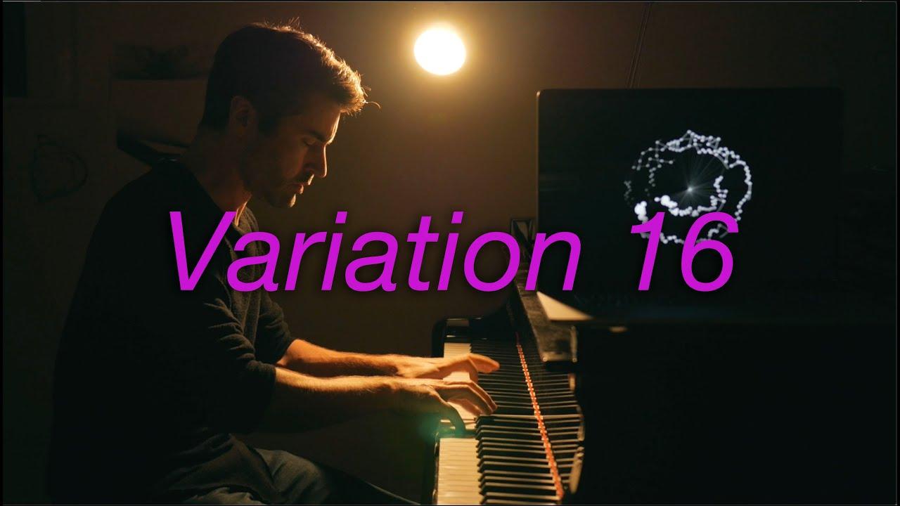 Goldberg Variations Var 16 #BachUpsideDown #negativeharmony