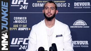 UFC 241: Dominick Reyes full guest fighter interview