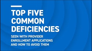 Top 5 Ways t๐ Make the Provider Enrollment Application Easy