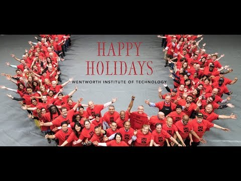 Happy Holidays from Wentworth!