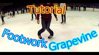 Freestyle Ice Skating: Footwork and Grapevine Tutorial