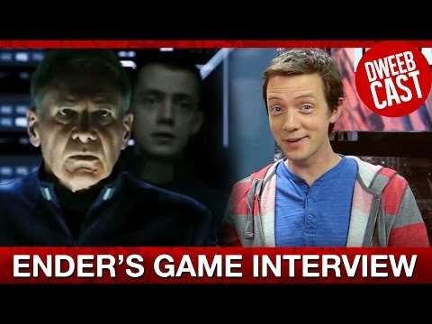Interview: Ender's Game Trailer Superstar Eric Artell | DweebCast | OraTV
