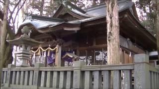 武田勝頼ゆかりの宮木諏訪神社 辰野町   Miyaki Suwa-Shrine related to Katsuyori Takeda