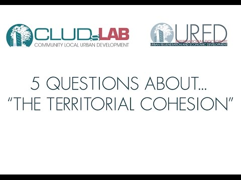 Territorial Cohesion: 5 questions to Thomas Hanell