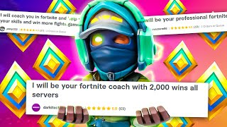 I HIRED A FIVERR FORTNITE COACH!