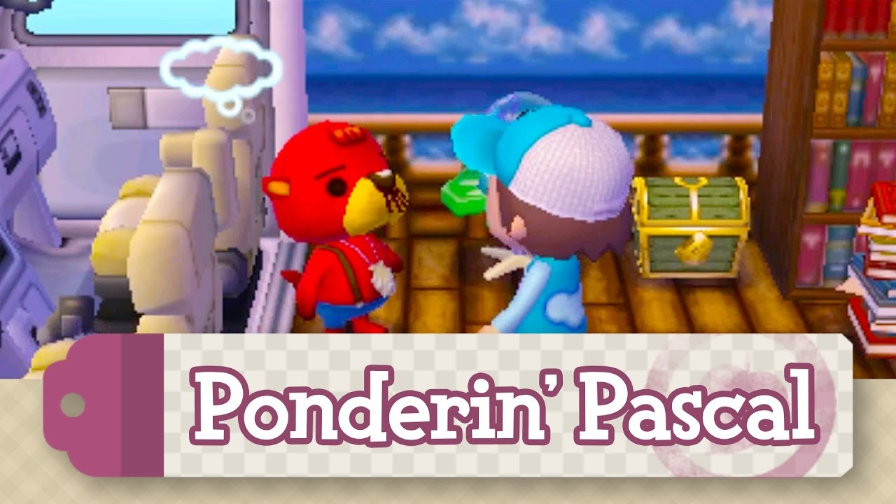 animal crossing new leaf how to meet pascal