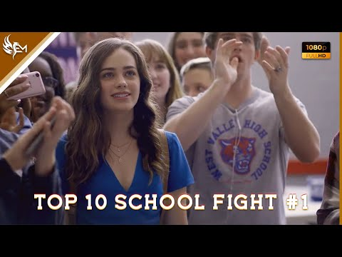 TOP 10 SCHOOL FIGHT SCENES IN MOVIES ( La Câlin ) 💎✨