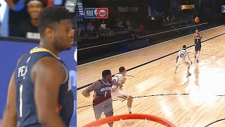 Zion Williamson Crazy Alley-Oop & Pass To Lonzo Ball In Return! Pelicans vs Jazz