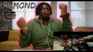 DIAMOND MQT - GUCCI BELT ft. YOUNGOHM ,FIIXD ,YOUNGGU | Reaction by The Black Kid