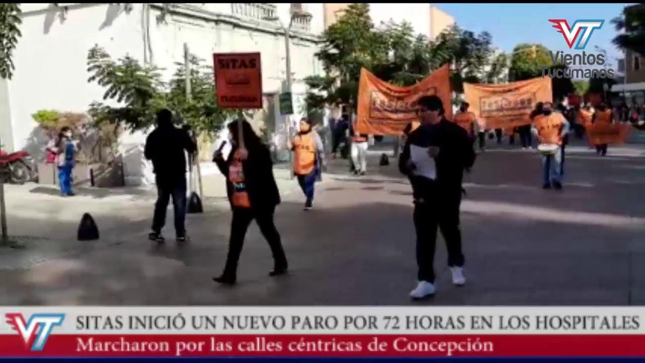 Nuevo paro en los hospitales y marcha de SITAS en Concepción