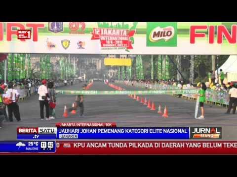 Pelari Kenya Juara Jakarta International 10K