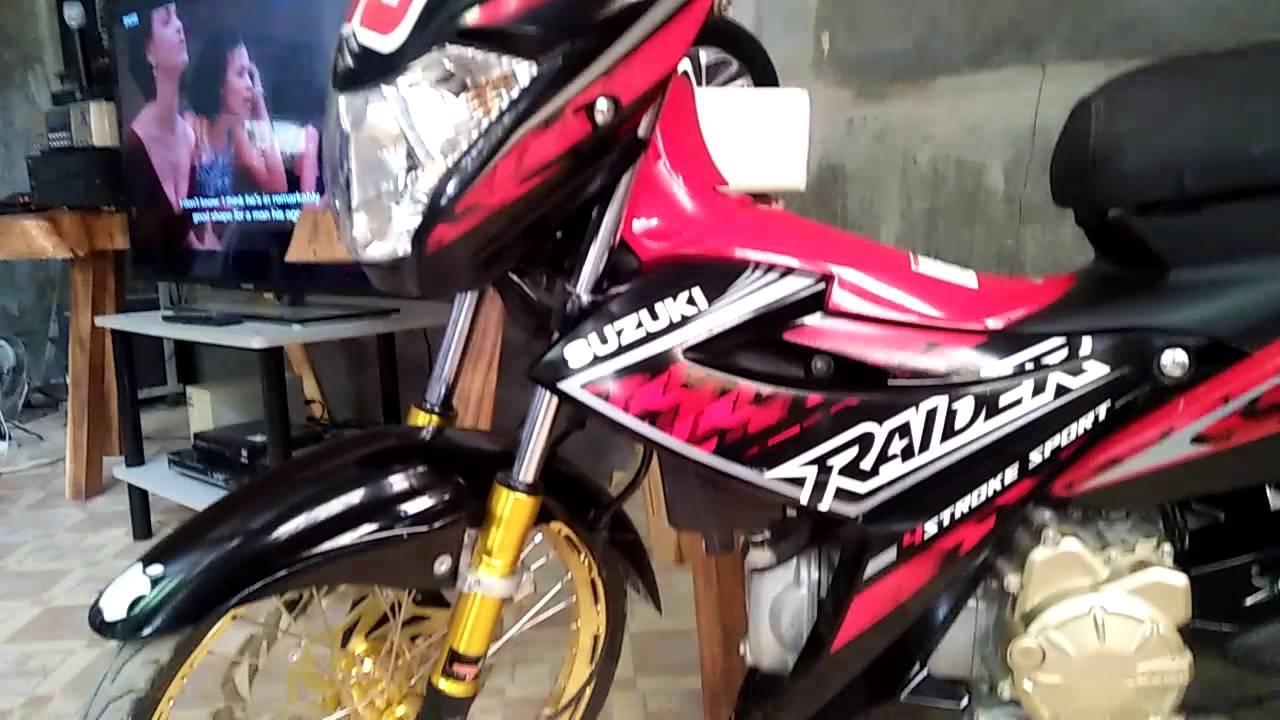Raider j 115 fi set up