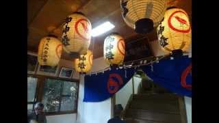 熊野神社(秋の例祭)香川県高松市塩江町北井 平成27年10月4日