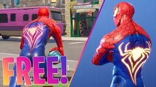 HOW TO GET THE *SPIDERMAN* SKIN FOR *FREE* IN FORTNITE BATTLE ROYALE!