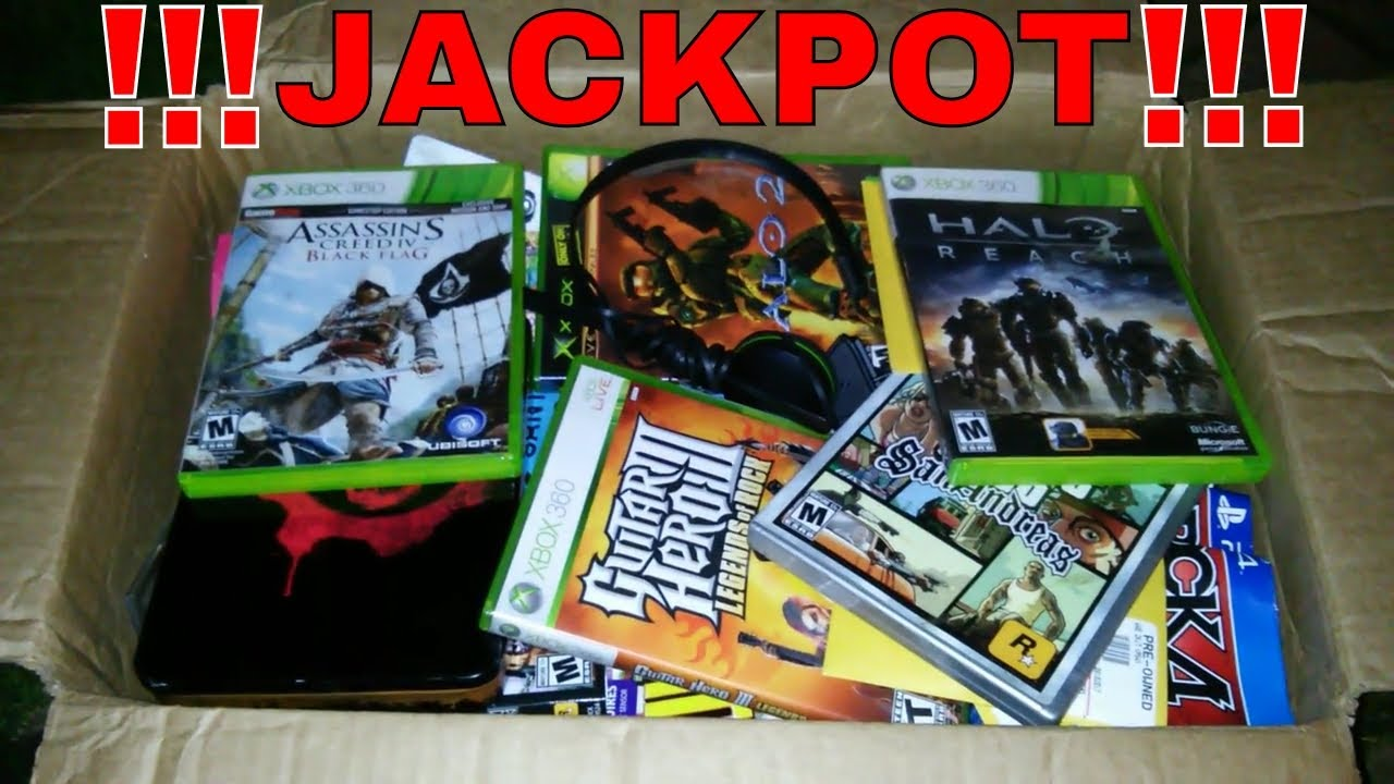 CRAZY JACKPOT HAUL!!! Dumpster Dive Gamestop Night #313