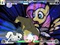 [Fighting Is Magic MUGEN] Fluttershy,Twilight Vs Zalgojack (Random Matches)