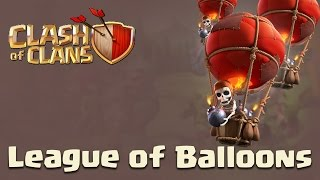 Clash Of Clans | Zap/Quake Golavaloon attack Town Hall 9
