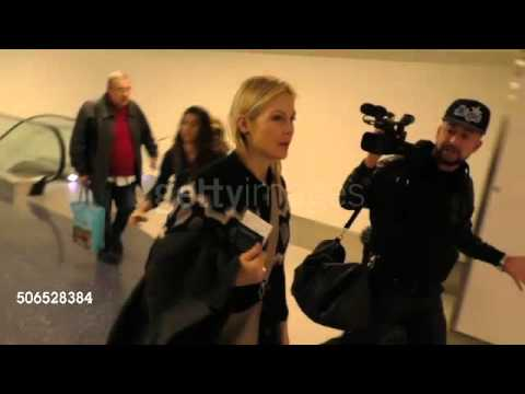 Kelly Rutherford at LAX Airport in Los Angeles at Celebrity Sightings in Los Angeles