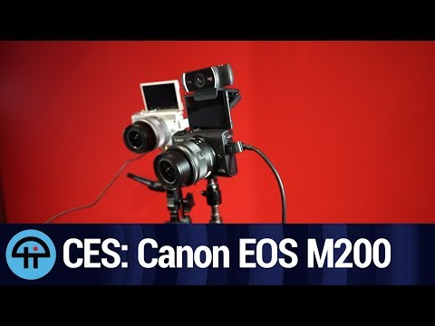 Canon's Gaming Camera - Canon M200 at CES 2020