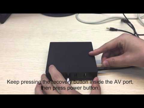 How to Update the MRX TV Box Firmware by USB Burning Tool