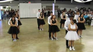 Jaylyn's Quince 2017 - Quinceanera Surprise Dance (Bachata, Hip Hop, Cumbia, Country)