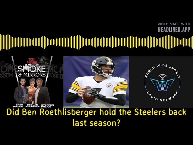 Big Ben holding the Steelers back?