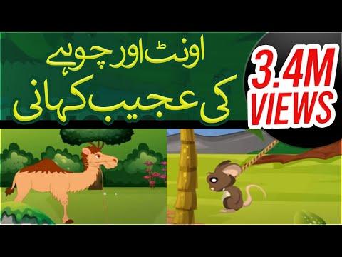 Cartoon For Kids   Oont Aur Chohay Ki Ajeeb Khani - Kisi Ko Chota Nahi Samjhain   Madani Channel