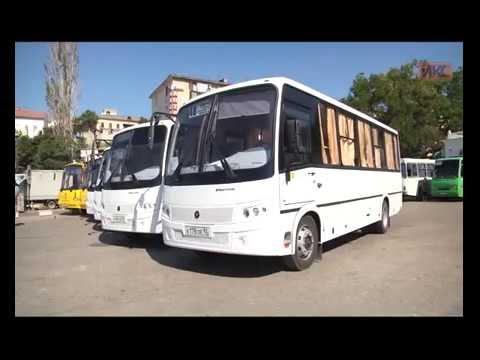 Шесть новых автобусов вышли на маршруты на Северной стороне Севастополя