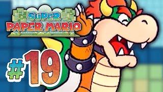 Super Paper Mario | King Bowser - 19 (Wii Gameplay Walkthrough)