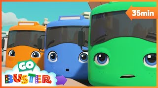 ABC Phonics Song   Go Buster   Baby Cartoon   Kids Video   ABCs and 123s