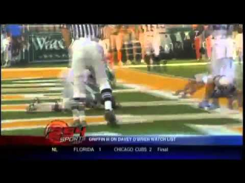 2011-0715 -- KWTX Waco reports Baylor quarterback Robert Griffin added to Davey O