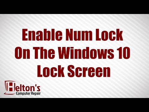 how to get caps lock notification on screen windows 10