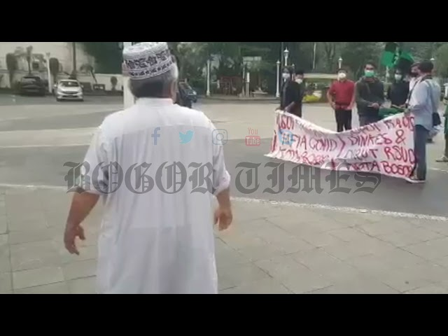 Wow! Demo HMI Bogor Berujung Ceramah Agama