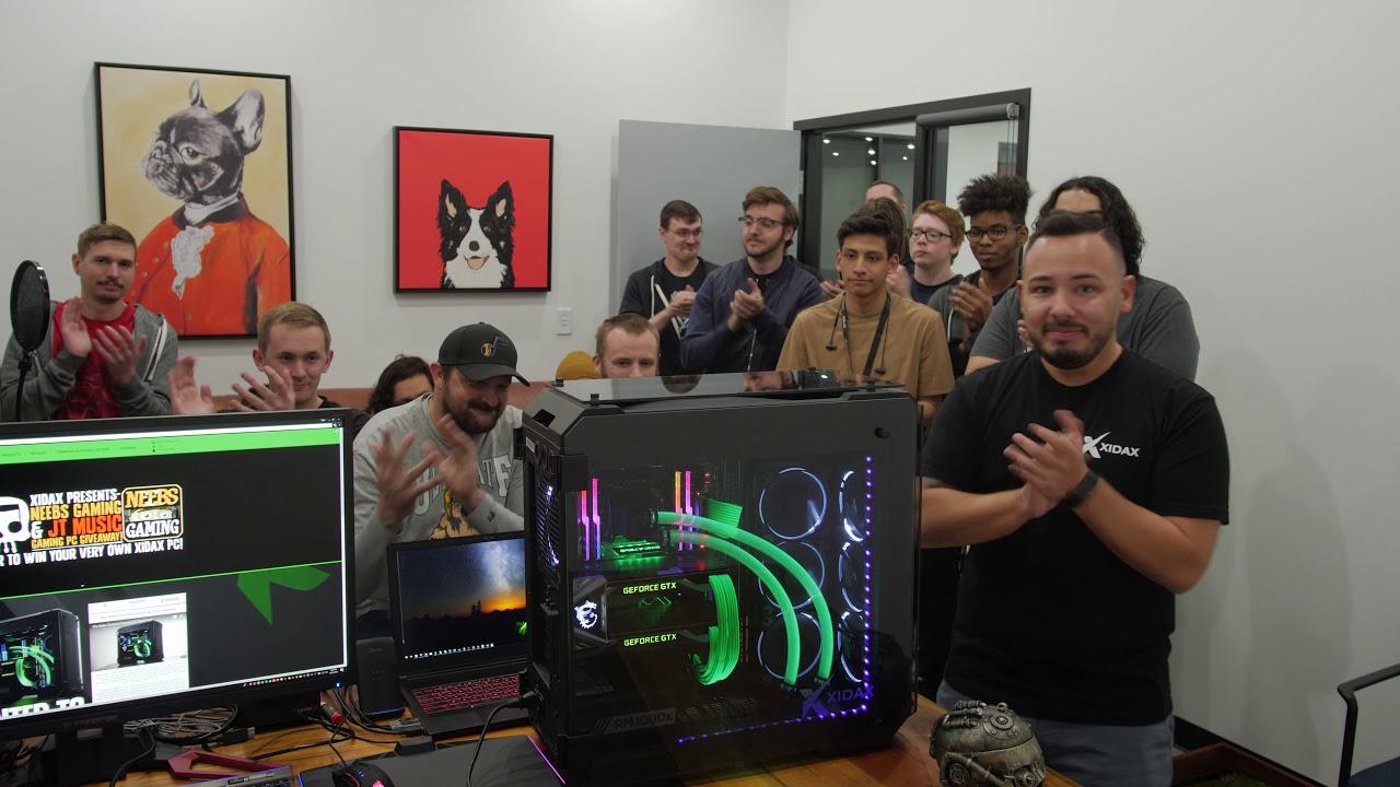 Jt Music Neebs Gaming Xidax Pc Giveaway Winner Youtube