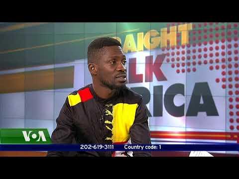 Straight Talk Africa  CALLERS to Ugandan musician BOBI WINE