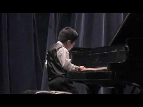 Jason Lin playing Perpetual Motion--Student of Mel...
