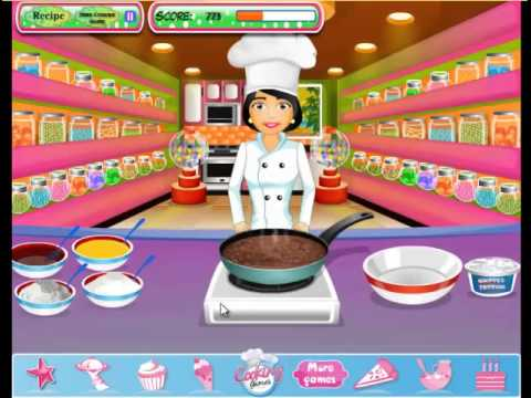 Chocolate Cream Cheese   Dessert Games   Cooking Game   Kids Games